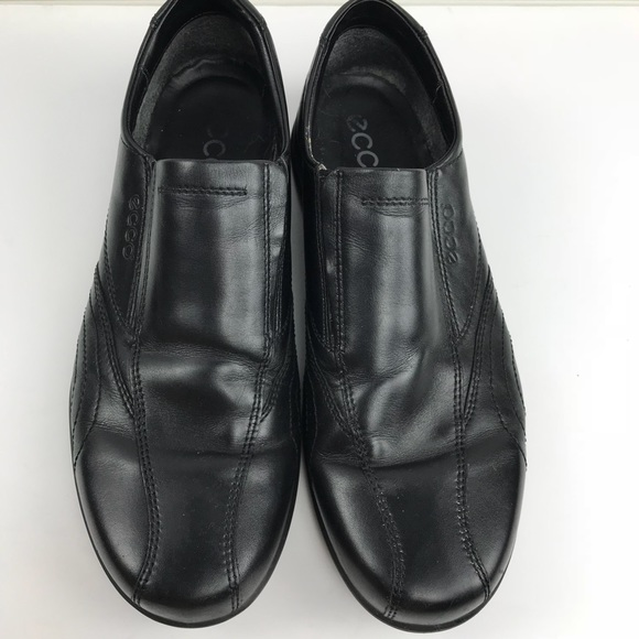 Ecco Shoes Mens Black Slipon Dress Sz 45 11 115 Poshmark